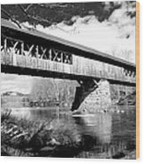 Blair Bridge Wood Print