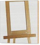 Blank Vertical Wood Frame Wood Print by Blink Images