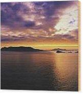 Blasket Islands, Dingle Peninsula, Co Wood Print