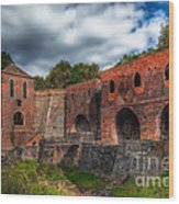 Blast Furnaces Wood Print