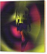 Blasted Rainbow  Wood Print