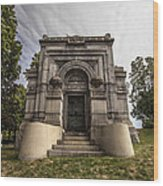 Blatz Family Mausoleum Wood Print