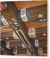Bldg 3 Wood Print