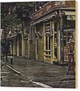 Bleeker Street Seven Am Wood Print