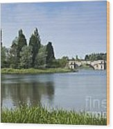 Blenheim Palace's Lake Wood Print