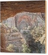 Blind Arch Overlook Wood Print