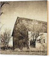 Block Barn Wood Print