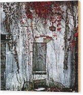 Blood Ivy Wood Print