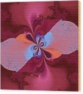 Blooming Color Wood Print