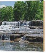 Blossom Road Waterfalls 5123 Wood Print