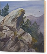 Blowing Rock Nc Wood Print