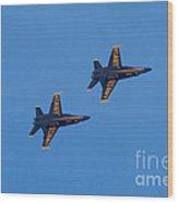 Blue Angel 23 Wood Print