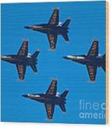 Blue Angels 10 Wood Print