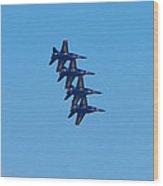 Blue Angels 13 Wood Print