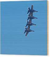 Blue Angels 14 Wood Print