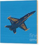 Blue Angels 17 Wood Print