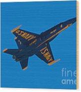 Blue Angels 18 Wood Print