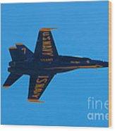 Blue Angels 21 Wood Print