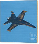 Blue Angels 22 Wood Print