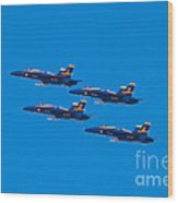 Blue Angels 25 Wood Print