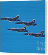 Blue Angels 26 Wood Print