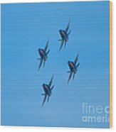 Blue Angels 7 Wood Print