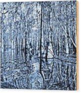 Blue Bayou Wood Print