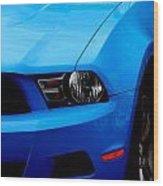 Blue Beauty 002 Wood Print
