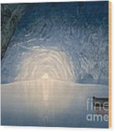 Blue Grotto Of Capri Island Wood Print