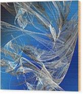 Blue Legacy Wood Print
