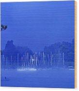 Blue Mondays Wood Print