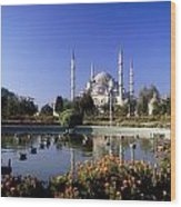 Blue Mosque, Sultanahmet, Istanbul Wood Print