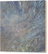 Blue Nebula #1 Wood Print