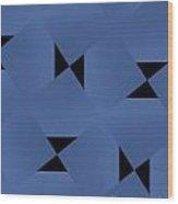 Blue Note Wood Print
