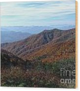 Blue Ridge Parkway Wood Print