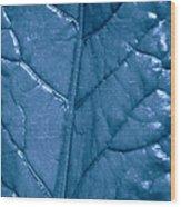 Blue Songs Wood Print
