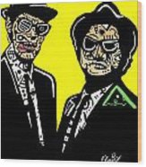 Blues Brothers Wood Print