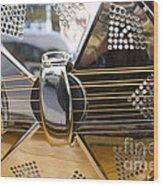 Blues Guitar Wood Print by Ed Rooney