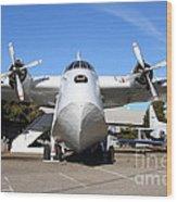 Boac British Overseas Airways Corporation Speedbird Flying Boat . 7d11246 Wood Print