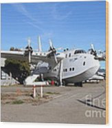 Boac British Overseas Airways Corporation Speedbird Flying Boat . 7d11249 Wood Print