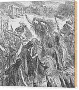 Boadicea (d. 62 A.d.) Wood Print
