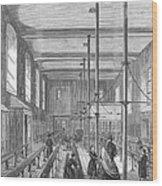 Boarding School, 1862 Wood Print