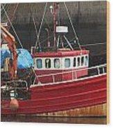 Boat 0001 Wood Print