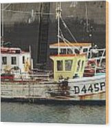 Boat 0002 Wood Print