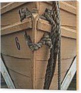 Boat 0004 Wood Print