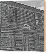 Boat Builders Cottage Wood Print