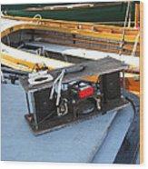 Boat Builders Music Box Wood Print