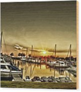 Boaters' Delight Wood Print