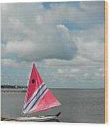 Boats 121 Wood Print