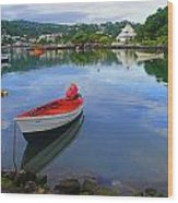 Boats-castries Harbor- St Lucia Wood Print